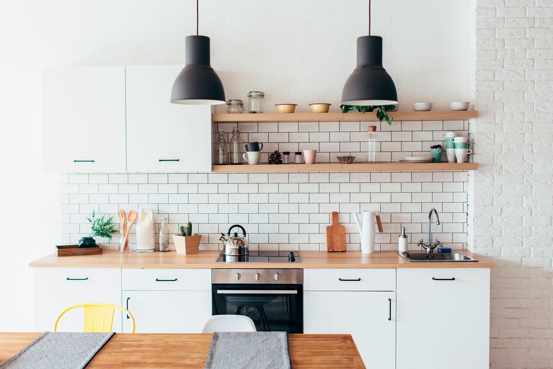 disposizione cucina